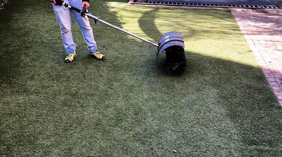 Artificial Grass Maintenance Brushing Pretoria